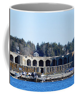 Fort Popham In Maine Coffee Mug