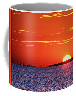 Fort Story Sunrise Coffee Mug