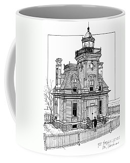 Fort Tompkins Lighthouse Coffee Mug