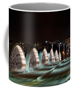 Fort Worth Seventh Street Bridge Oct 10 2014 Coffee Mug