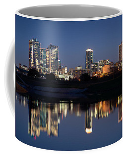 Fort Worth Skyline 020915 Coffee Mug