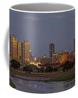 Fort Worth Skyline Golden Hour Coffee Mug