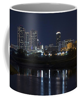 Fort Worth Skyline Super Moon Coffee Mug