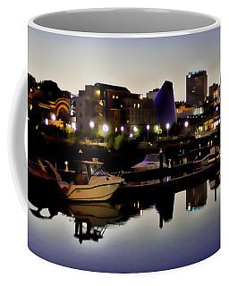 Foss Waterway At Night Coffee Mug