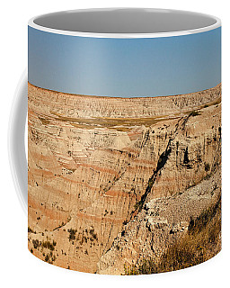 Fossil Exhibit Trail Badlands National Park Coffee Mug