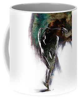 Fount II. Textured. A Coffee Mug
