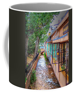 Coffee Mug featuring the photograph Fountain Creek Behind The Avenue by Lanita Williams