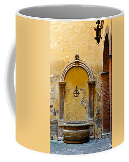 Fountain In Sienna Coffee Mug