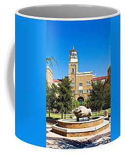 Coffee Mug featuring the photograph Fountain Of Knowledge by Mae Wertz