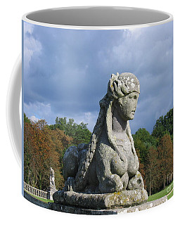 Coffee Mug featuring the photograph Fountainebleau Twin2 by HEVi FineArt