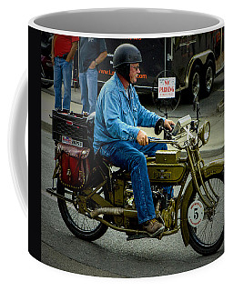 Four Cylinder Henderson Motorcycle Coffee Mug