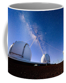 Four Lasers Attacking The Galactic Center Coffee Mug