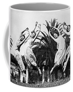 Four Leaping Grecian Dancers Coffee Mug