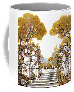 four seasons-autumn on lake Maggiore Coffee Mug