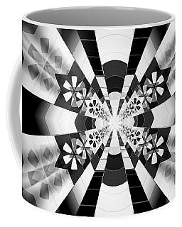 Coffee Mug featuring the drawing Four Star Gateway by Derek Gedney