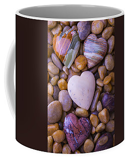 Four Stone Hearts Coffee Mug