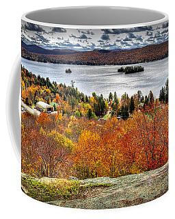 Fourth Lake From Above Coffee Mug