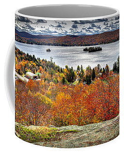 Fourth Lake From Above Coffee Mug
