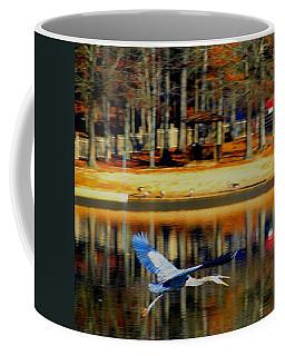 Fowl In Flight Coffee Mug