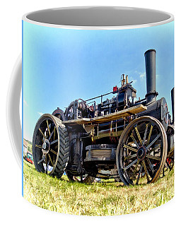 Coffee Mug featuring the photograph Fowler Ploughing Engine by Paul Gulliver