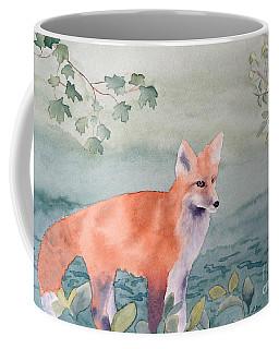 Fox And Birch Coffee Mug