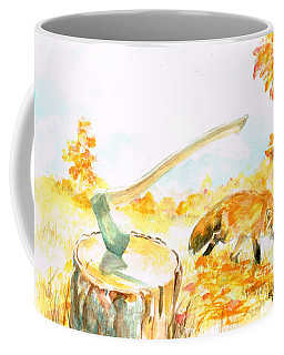 Fox In Autumn Coffee Mug