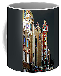 Fox Theater . Oakland California Coffee Mug