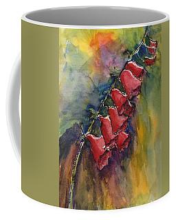 Foxgloves Coffee Mug