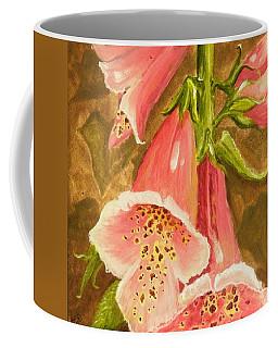 Foxy Foxglove Of Williamsburg Coffee Mug
