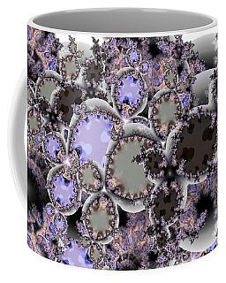 Fractal Cluster Coffee Mug by Ron Bissett