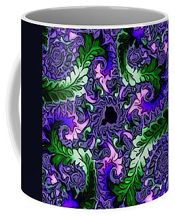 Fractal Leaves Coffee Mug