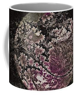 Fractal Moon Coffee Mug by Susan Maxwell Schmidt