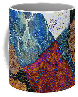 Coffee Mug featuring the photograph Fracture Section X by Paul Davenport