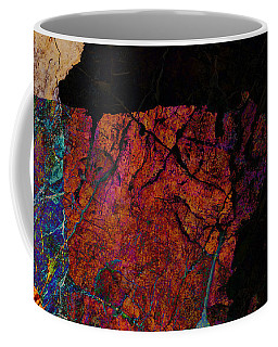 Coffee Mug featuring the photograph Fracture Section Xii by Paul Davenport