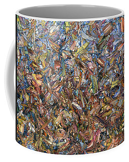 Coffee Mug featuring the painting Fragmented Fall by James W Johnson