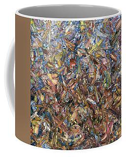 Fragmented Fall - Square Coffee Mug
