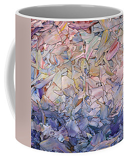 Coffee Mug featuring the painting Fragmented Sea - Square by James W Johnson