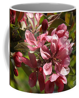 Fragrant Crab Apple Blossoms Coffee Mug