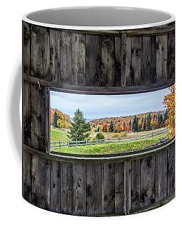Framed-autumn In Vermont Coffee Mug