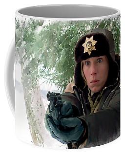 Frances Mcdormand As Marge Gunderson In The Film Fargo By Joel And Ethan Coen Coffee Mug
