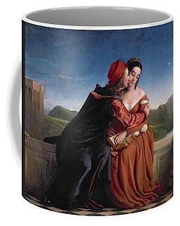 Francesca Da Rimini, Exh. 1837 Oil On Canvas Coffee Mug