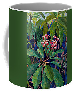 Frangipani Coffee Mug by Susan Duda