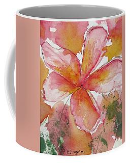 Frangipani Coffee Mug by Elvira Ingram