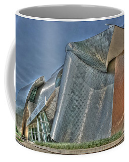 Frank Gehry At Case Western U Coffee Mug