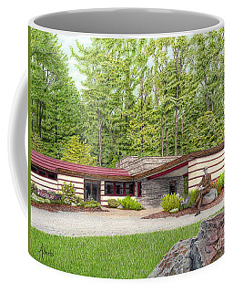 Frank Lloyd Wright At Duncan House Coffee Mug