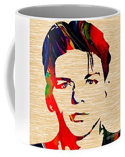 Coffee Mug featuring the mixed media Frank Sinatra Art by Marvin Blaine