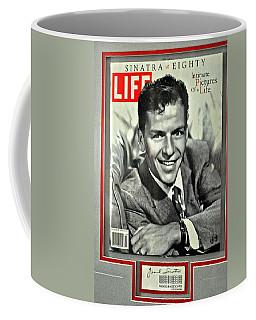 Frank Sinatra Life Cover Coffee Mug