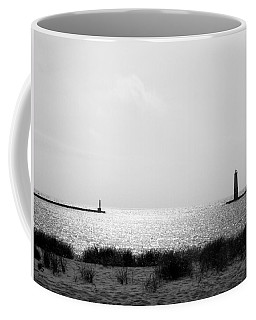 Frankfort Michigan Harbor Coffee Mug