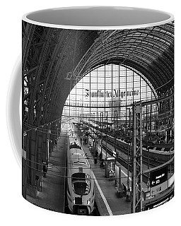 Frankfurt Bahnhof - Train Station Coffee Mug