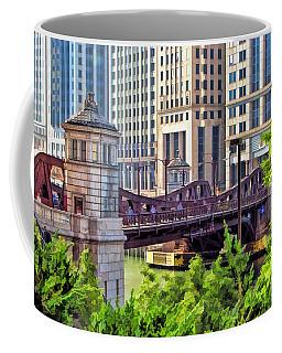 Chicago Franklin Street Bridge Coffee Mug